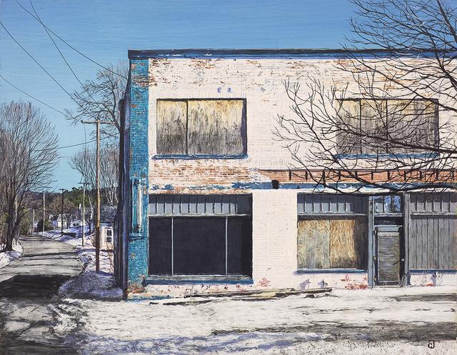, 'Commercial Street,' 2017, William Baczek Fine Arts