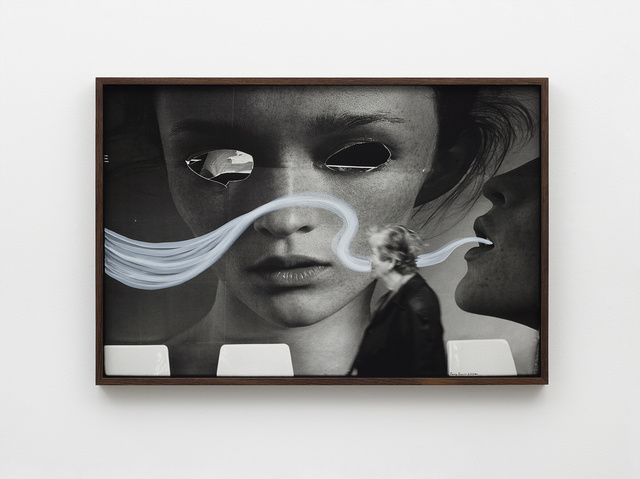 , 'Paris France billboard eyes woman, 2003,' 2019, Nils Stærk