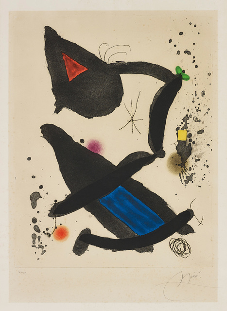 Joan Miró, 'Le Roi David (The King David)', 1972, Phillips