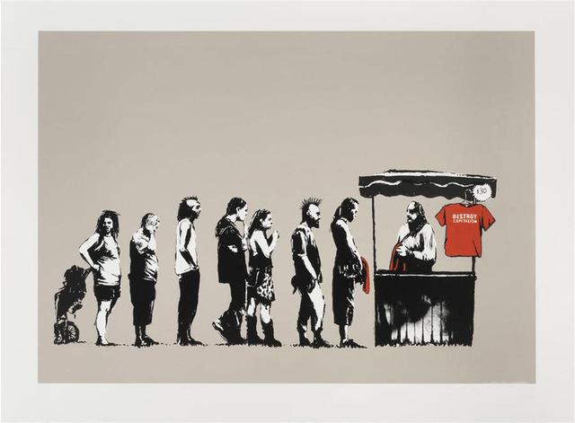 , 'Festival (Destroy Capitalism),' 2006, Graffik Gallery / Banksy Editions