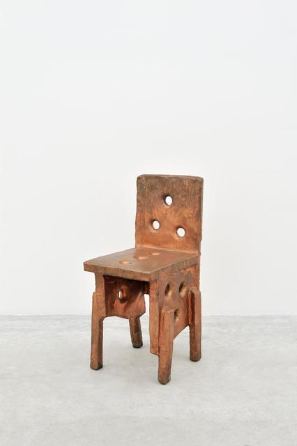 , 'Copper Chair,' 2010, Almine Rech Gallery
