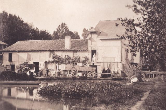 """, '""""Le Moulin de Nantivet"""", Chalons-sur-Marne,' 1857, Lee Gallery"""