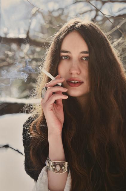 , 'Untitled; Lizzie Smoking,' 2016, Opera Gallery