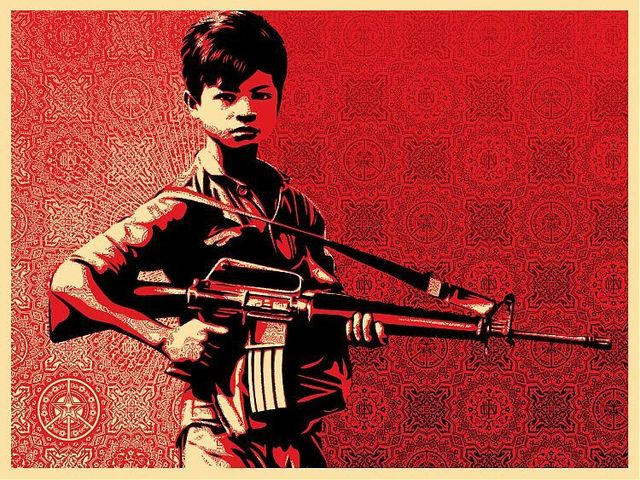 Shepard Fairey, 'Untitled', EHC Fine Art