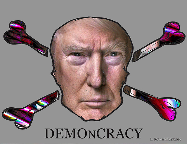 , 'Demoncracy,' 2016, Fountain House Gallery