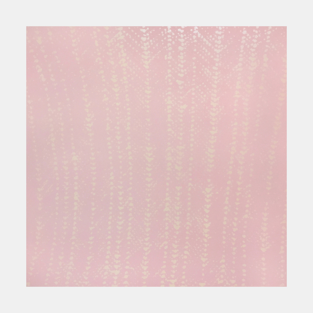 , 'Pink Crochet Ripple,' 2015, Tandem Press
