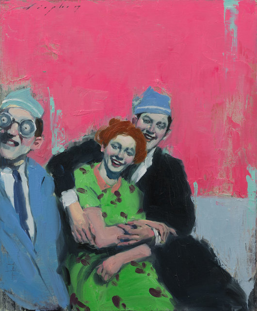 , 'Party Hats,' 2017, Pontone Gallery