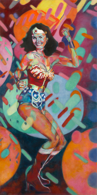 , 'Wonder Woman at the Disco,' 2016, Carter Burden Gallery