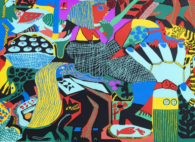 , 'Swedish Fish,' 2018, Shulamit Nazarian