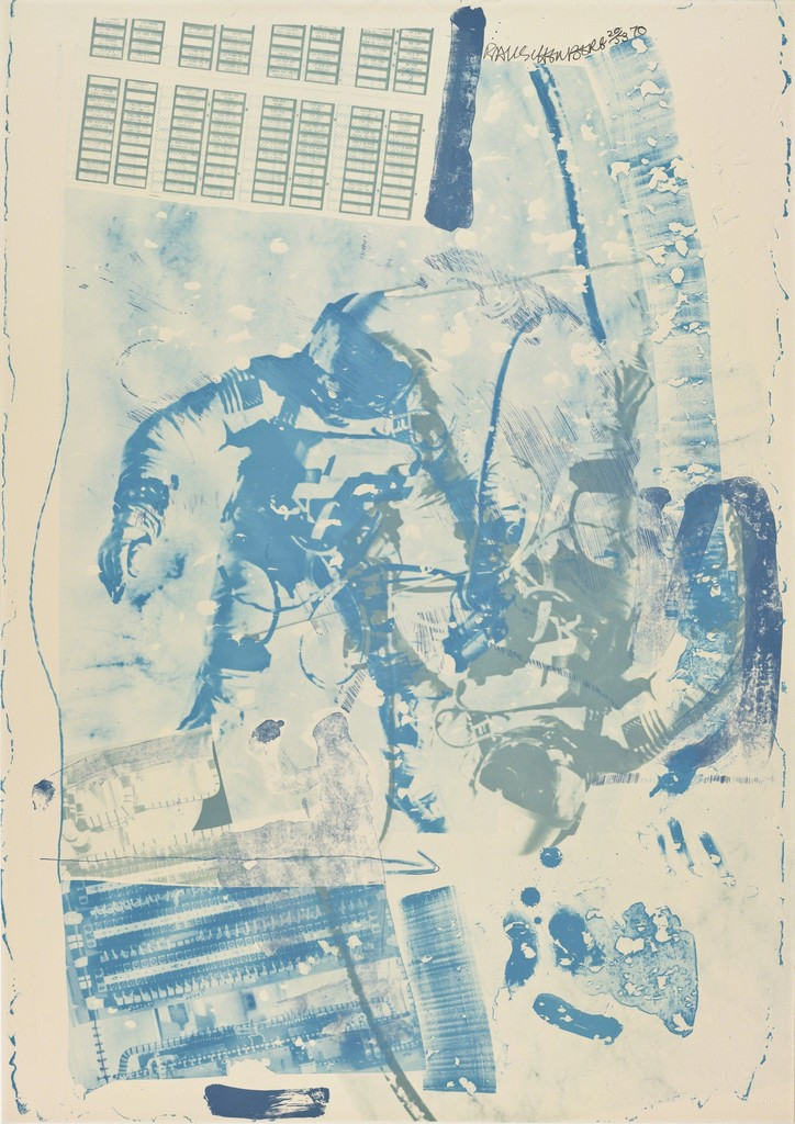 Robert Rauschenberg, 'White Walk (Stoned Moon),' 1970, San Francisco Museum of Modern Art (SFMOMA)