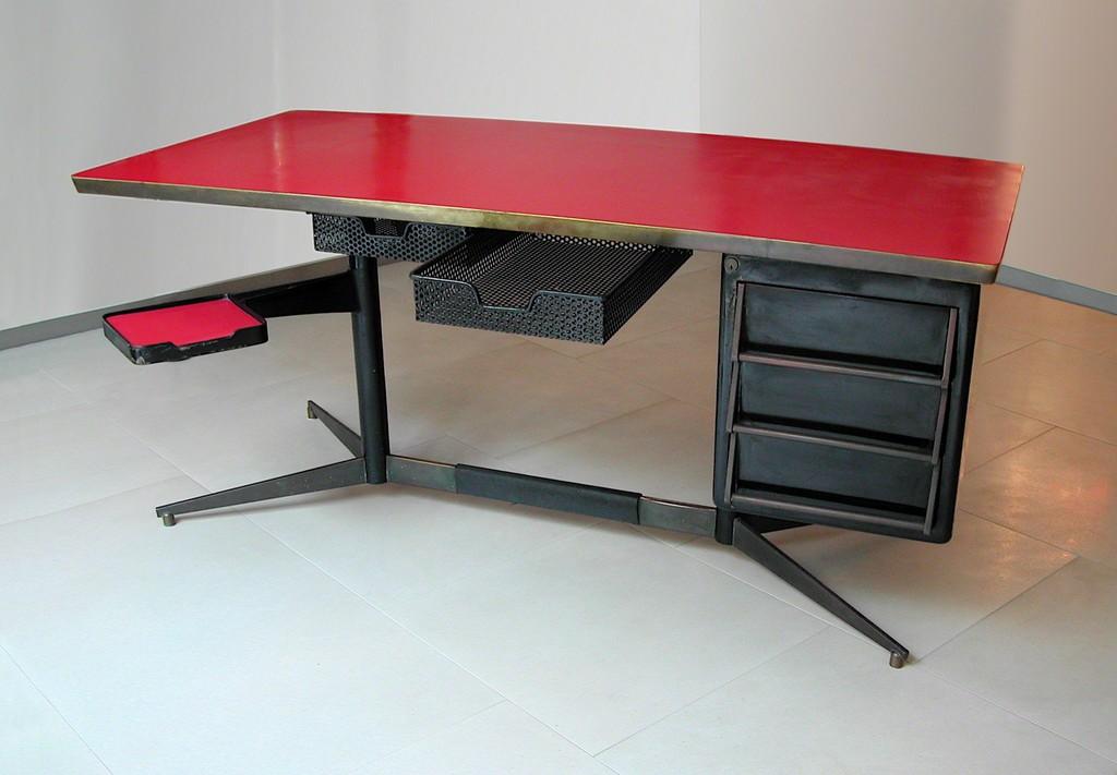 Gio ponti desk from the series mobili per ufficio - Gio ponti mobili ...