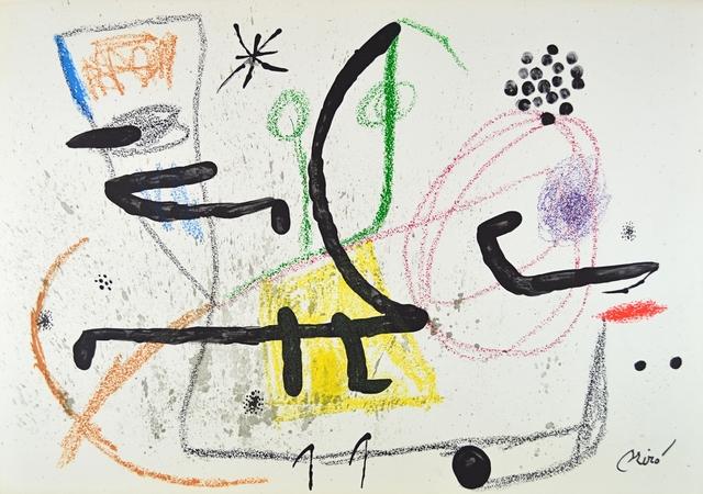 Joan Miró, 'Maravillas 9', ARTEDIO