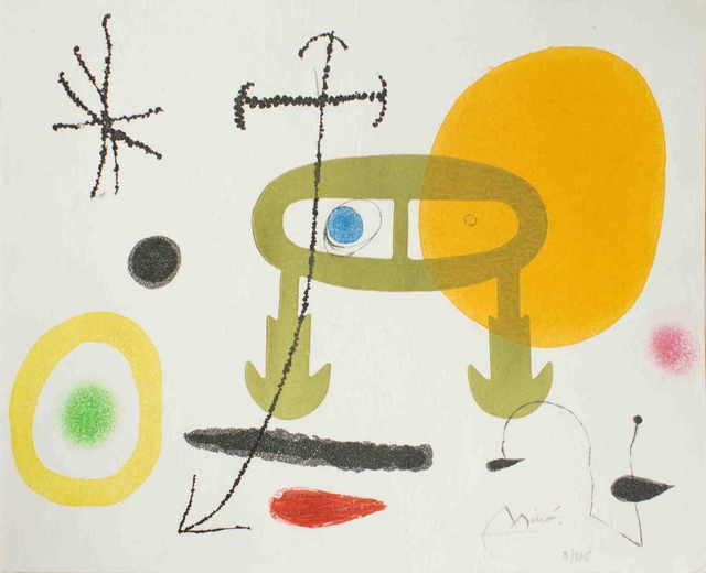 Joan Miró, 'Je n'ai jamais appris à écrire ou les incipit', 1969, Wallector