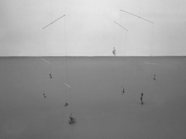 , 'Mobile de poussières,' 2010, 22,48m2