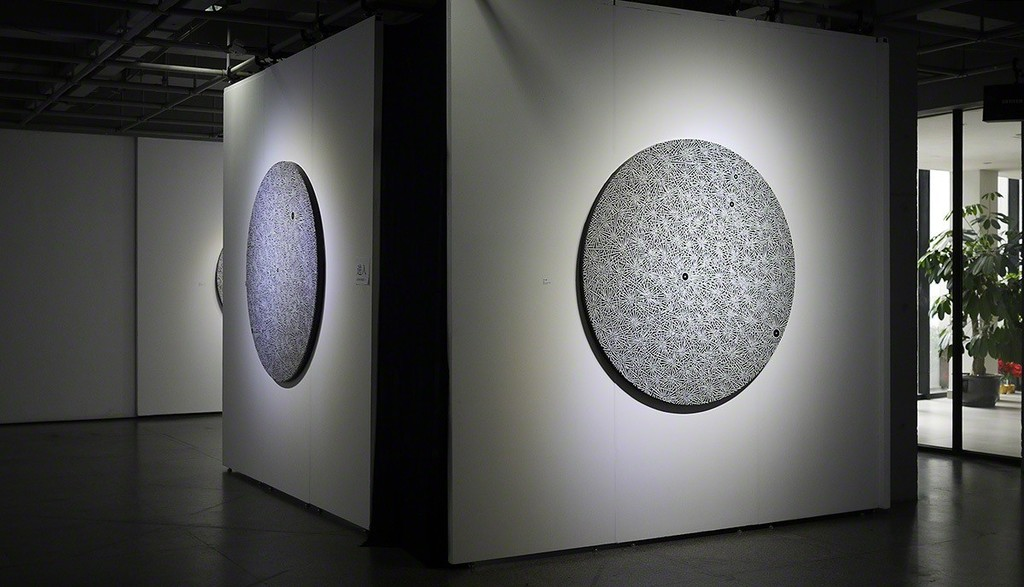 "Installation photo - Lu Xinjian ""Constellation"" 陆新建个展""星座""展览照片"