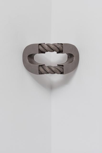 , 'Split 'O' with Rope (corner),' 2016, Maccarone