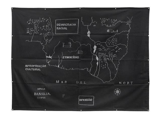 , 'Novus Brasilia Typus: invasão, etnocídio, democracia racial e apropriação cultural,' 2016, Galeria Leme