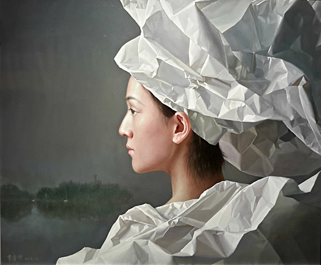 , 'White Paper Bride,' 2016, Tanya Baxter Contemporary