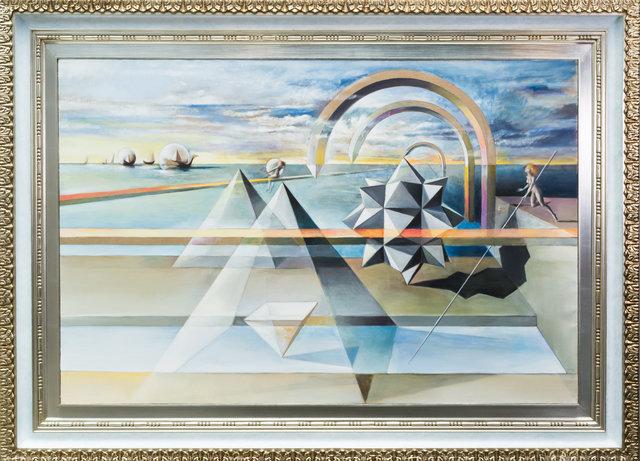 , 'Hacia Pirámides,' 1995, LS// Galería