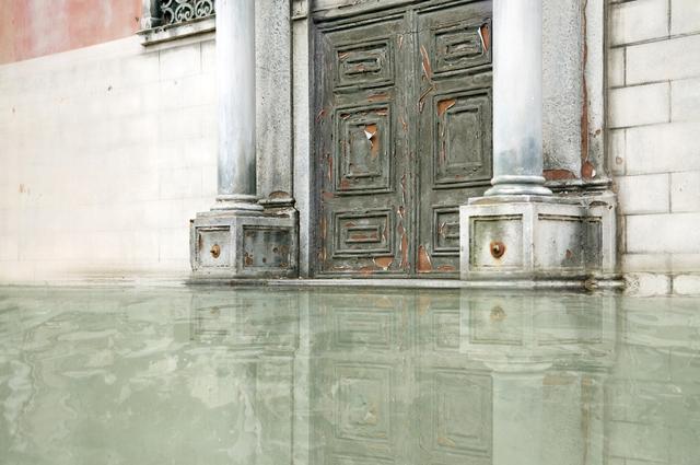 , 'When water begins #1 (Encrusted door),' 2011, Photographica FineArt Gallery