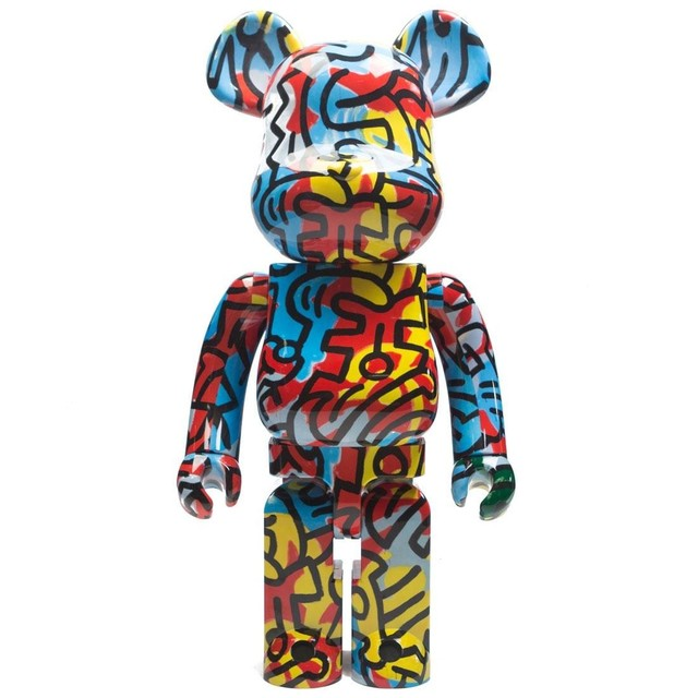 Keith Haring, '1000% Bearbrick', 2018, Avenue des Arts