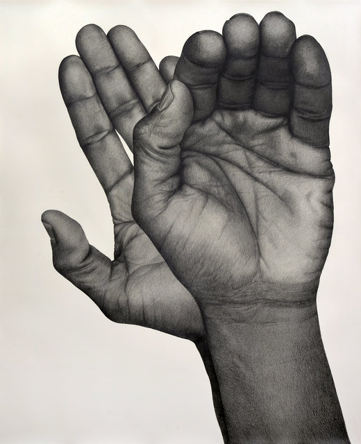 , 'Two Handed (Left),' 2017, Wentrup
