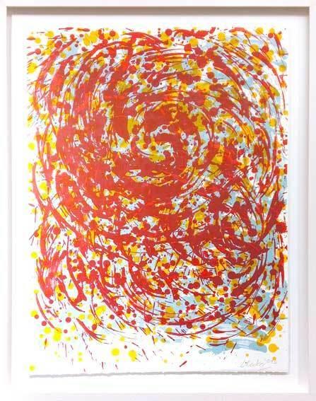 , 'Rote Spirale,' 2013, Galerie Kellermann