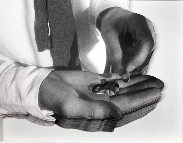 , 'Kristall (What is money III/A),' 2015, Raum mit Licht