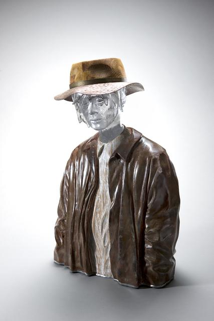 , 'Man Wearing a Hat,' 2018, Gallery Sklo