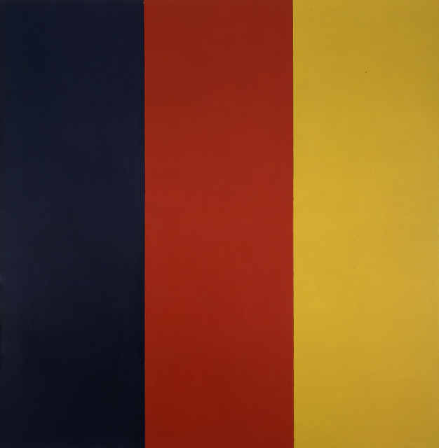 , 'Red Yellow Blue III,' 1974, Gagosian