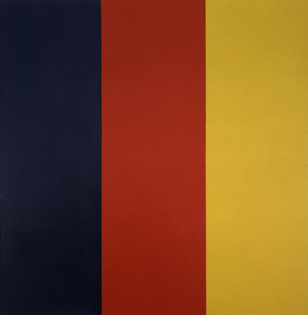 , 'Red Yellow Blue III,' 1974, Gagosian Gallery