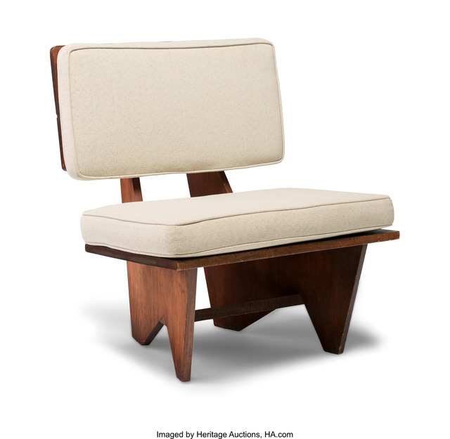 Fantastic Frank Lloyd Wright Lounge Chair From The Winn House Theyellowbook Wood Chair Design Ideas Theyellowbookinfo