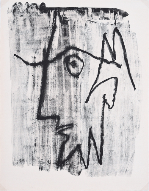 Pablo Picasso, 'Profil d'Homme Barbu', 1963, Print, Lithograph, Odon Wagner Gallery
