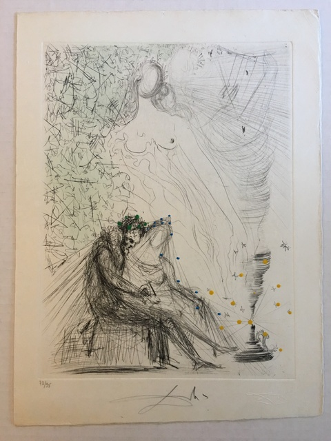 Salvador Dalí, 'Le Couple a la Bougie (Couple with a Candle)', 1968, Puccio Fine Art