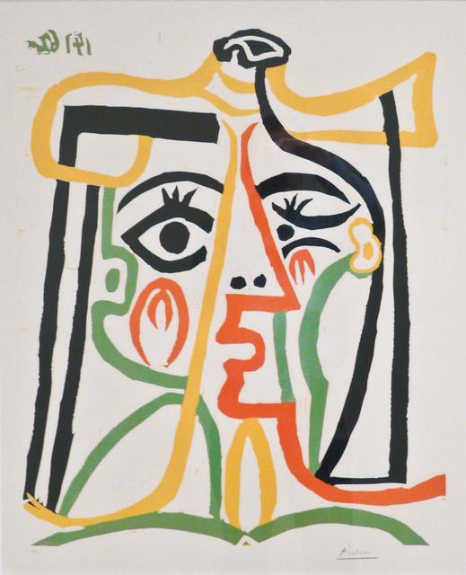 Pablo Picasso, 'Portrait de Jacqueline au chapeau de paille', 1957, John Szoke