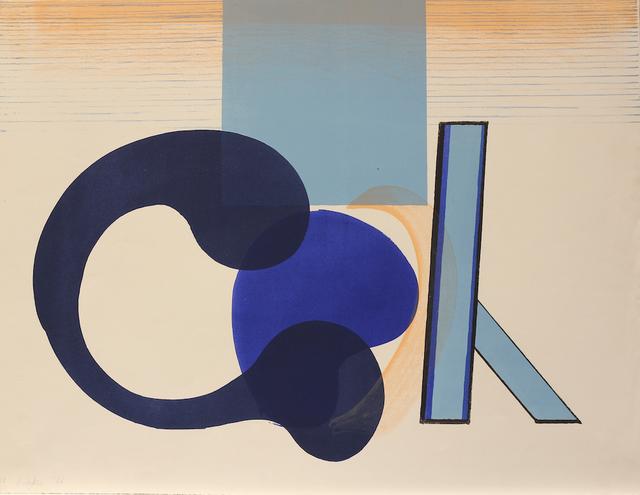 , 'Interior with Figure,' 1966, Bernard Jacobson Gallery