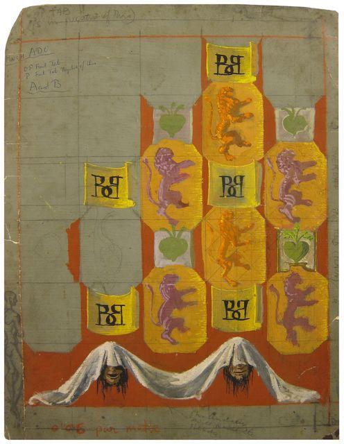 , 'Scenography drawing,' 1949, Artur Ramon Art