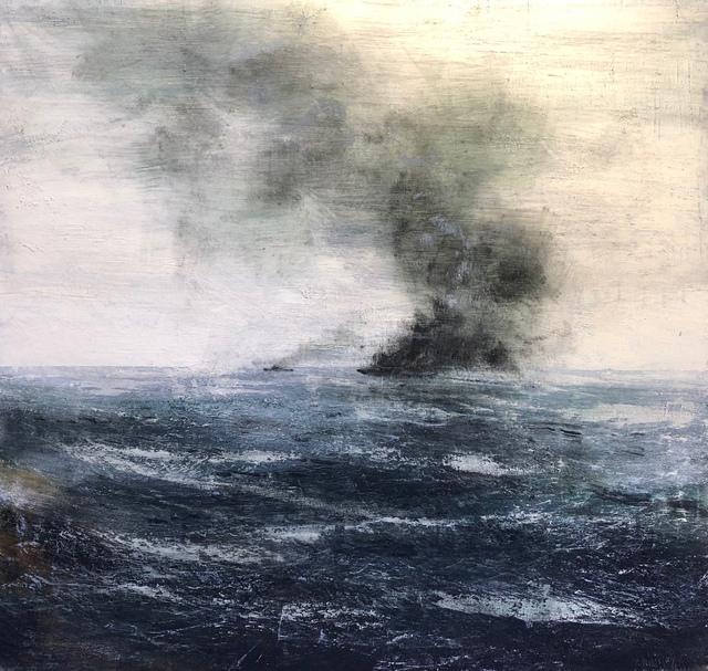 , 'Incendio Marino ,' 2018, Sala Parés