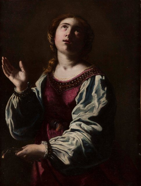 Artemisia Gentileschi, 'Santa Apolonia', ca. 1642, Museo Soumaya