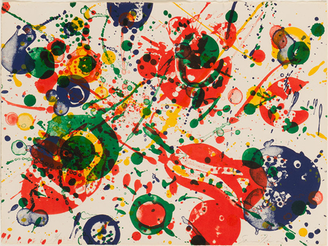 Sam Francis, 'Untitled, Plate 4 from The Pasadena Box Series', 1964, ACA Galleries