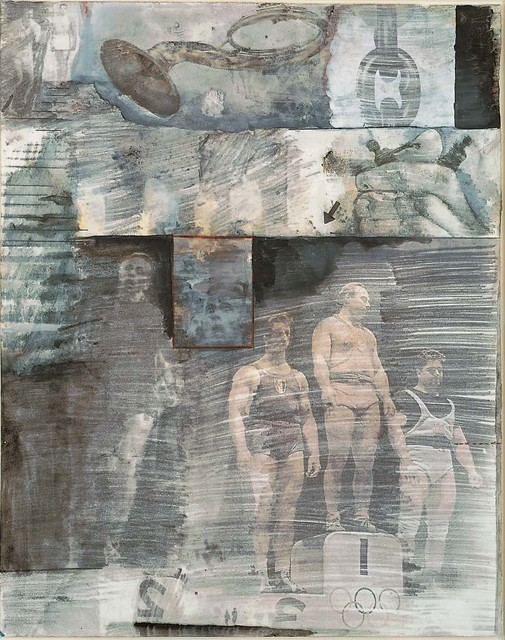 Robert Rauschenberg, 'Canto XXXI: The Central Pit of Malebolge, The Giants, from the series Thirty-Four Illustrations for Dante's Inferno', 1959–60, Robert Rauschenberg Foundation