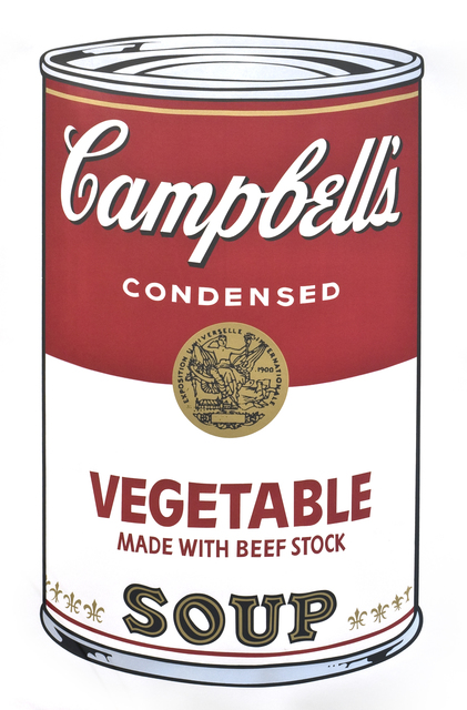 , ' Campbell's Soup I (Vegetable),' 1968, Collectors Contemporary