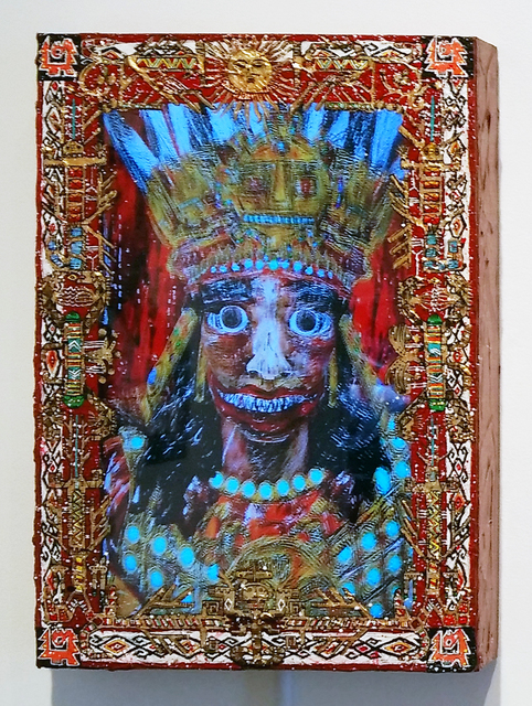 , 'The Earth Shaker (King Pachacuti),' 2015, Luis De Jesus Los Angeles