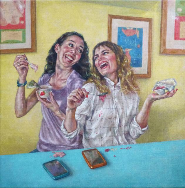 , 'Laughing While Eating Yogurt,' 2015, Reuben Colley Fine Art