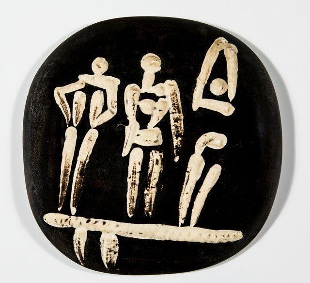Pablo Picasso, 'Trois personnages sur un tremplin', 1956, Heritage Auctions