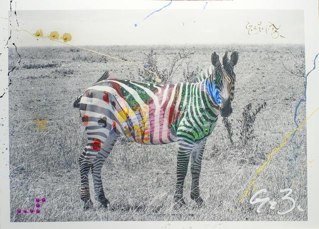 , 'Zebra,' 2015, BLANK SPACE