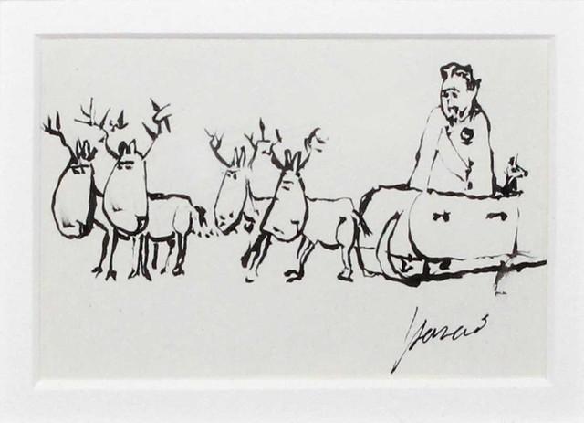 Jerry Garcia, 'Santa (Original Drawing)', ca. Unknown, DANE FINE ART