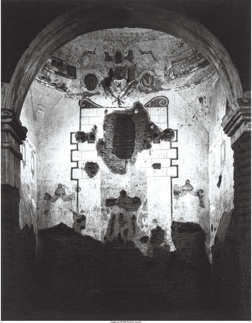 Ansel Adams, 'Interior of Tumacacori Mission, New Mexico', circa 1952, Heritage Auctions
