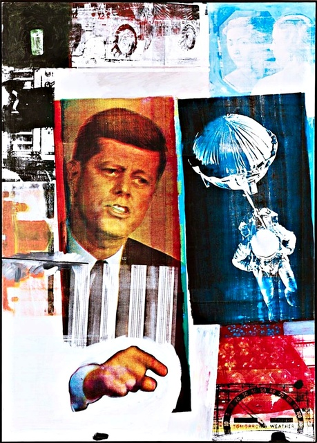 Robert Rauschenberg, 'Pop Art: Rare Vintage Poster published by the Royal Academy of Arts (UK)', 1991, Alpha 137 Gallery Auction