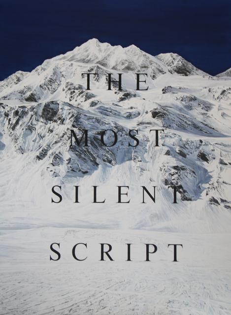 """, '""""SILENT SCRIPT"""",' 2016, 3 Punts Galeria"""